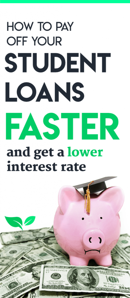Student loan payoff tips | How to pay off loans | Getting out of student debt | Refinancing student loans | Refinance federal and private loans | How to save money | How to get out of debt