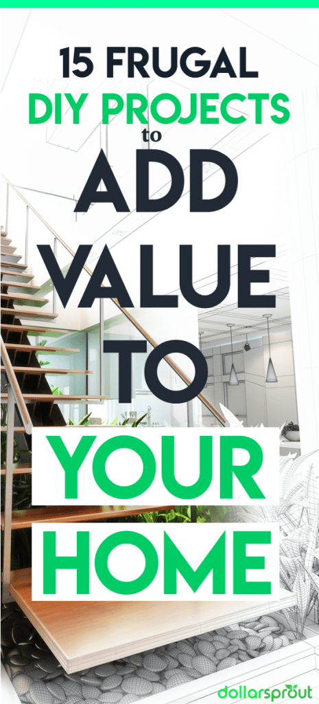 DIY projects | Home improvement ideas | Add value to your home | Frugal DIY project ideas
