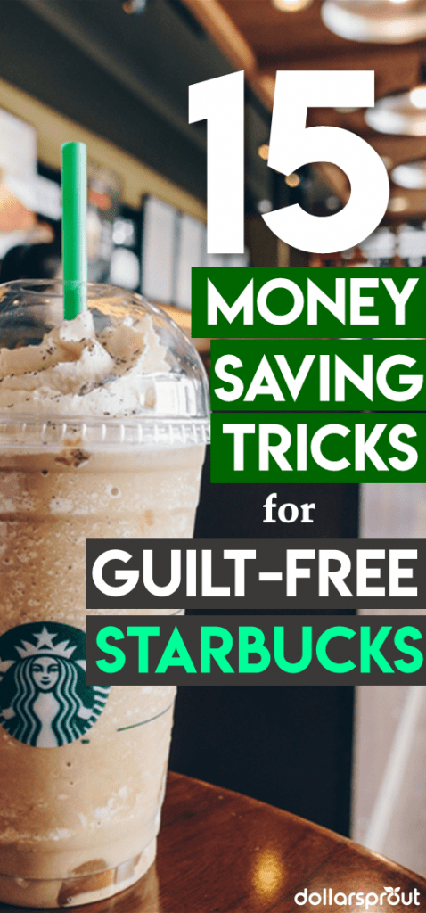 Save money at Starbucks | Starbucks saving hacks | How to save money | money saving tips