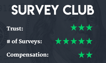 Survey Club | One of our best paid online surveys | Make money with paid survey sites