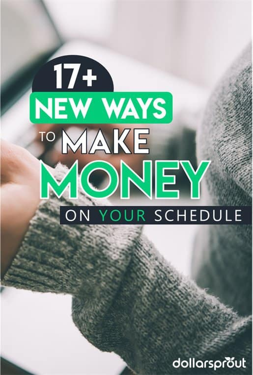Looking for new ways to make money at home and online? At DollarSprout we're all about easy money. Here's a list of 17 of the best ways you can make money at home in your spare time. No experience needed!