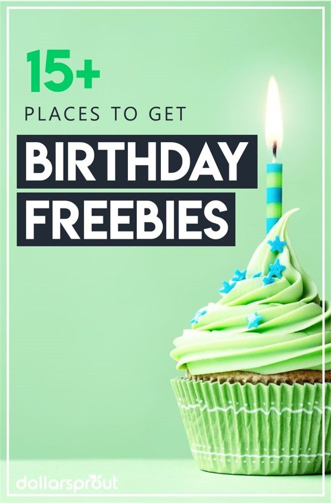 BIRTHDAY FREEBIES PIN