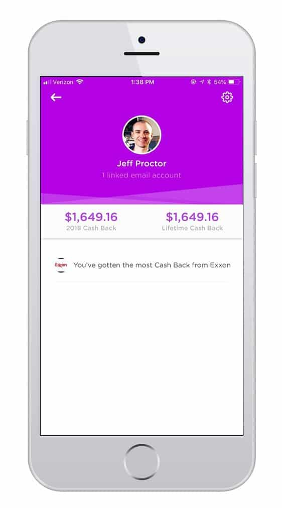 Dosh Review: dosh cash back screenshot