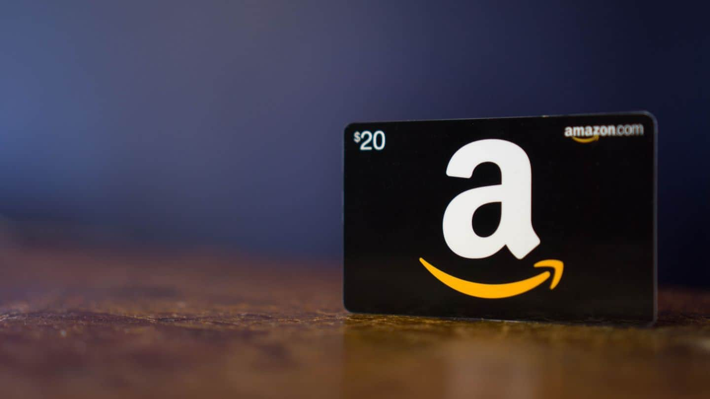 free amazon gift card for signing up