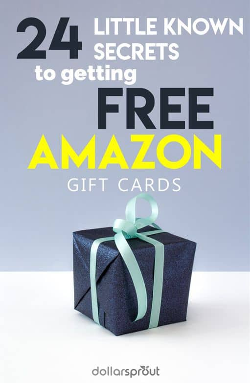 It's hard to beat free gift cards. If you like gift cards as much as we d, you'll probably want to see this list of 24 unique ways you can score free Amazon gift cards. It's time to treat yourself!