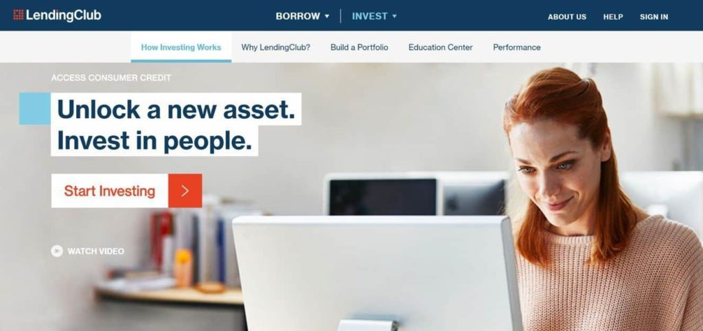 Short Term Investment Options With High Returns - lending club investing screenshot