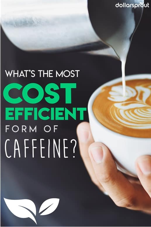 Looking to score cheap caffeine? Energy drinks, lattes, brewed hot coffee. We look at the most common sources of caffeine and determine where you can get the most bank for your buck!