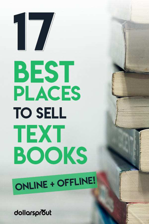 17 Best Places to Sell Textbooks for the Most Money