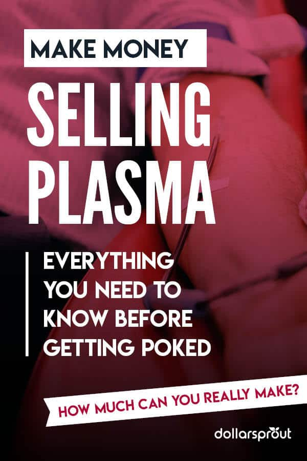 how to sell money for plasma