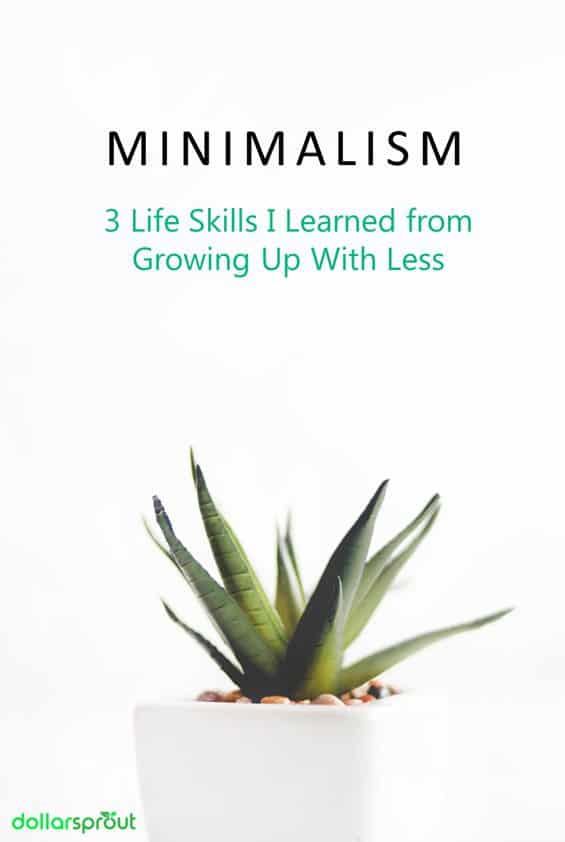 lessons about minimalism