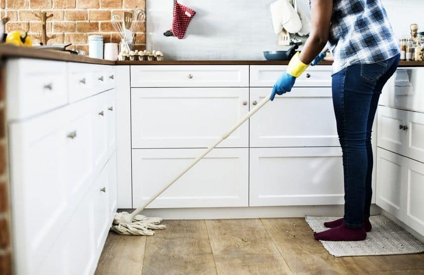 Offer cleaning services to make money as a kid or teen