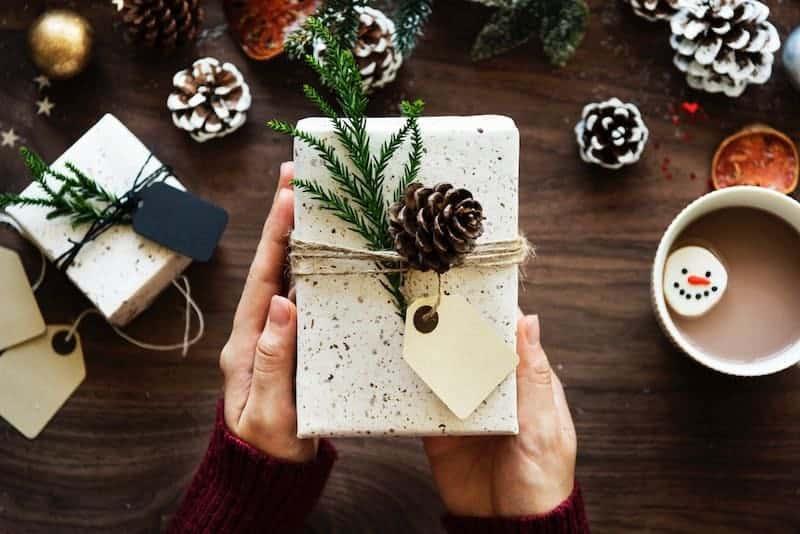 Budgeting for Christmas: Hot chocolate and Christmas presents