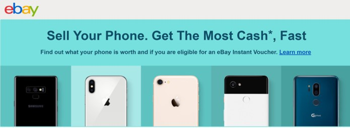 use eBay to sell my phone