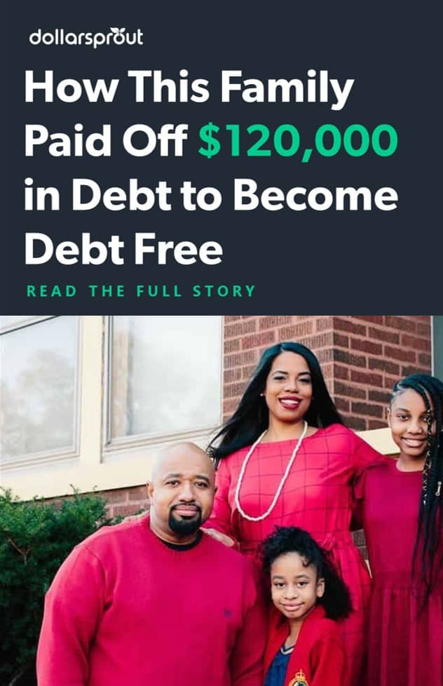 how this family paid of $120,000 in debt