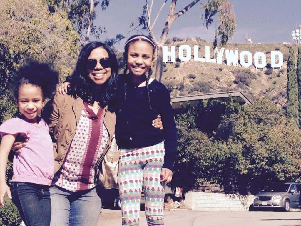 Aja McClanahan and Daughters
