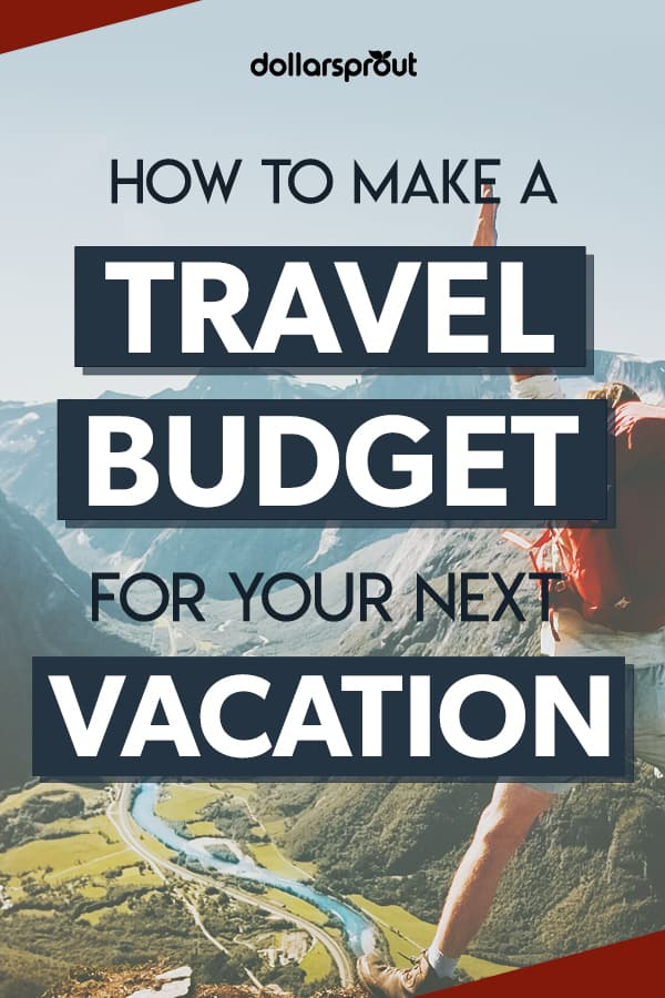 Planning a vacation soon? Here's how to plan a travel budget so you can ENJOY your vacation and not worry about spending!