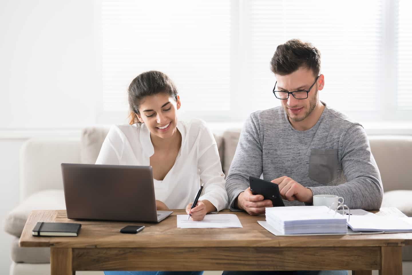 Couple Checking Out Their Credit Score Range and Ways to Improve their Credit