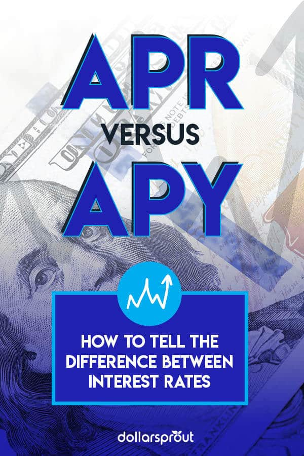 difference between apr and apy