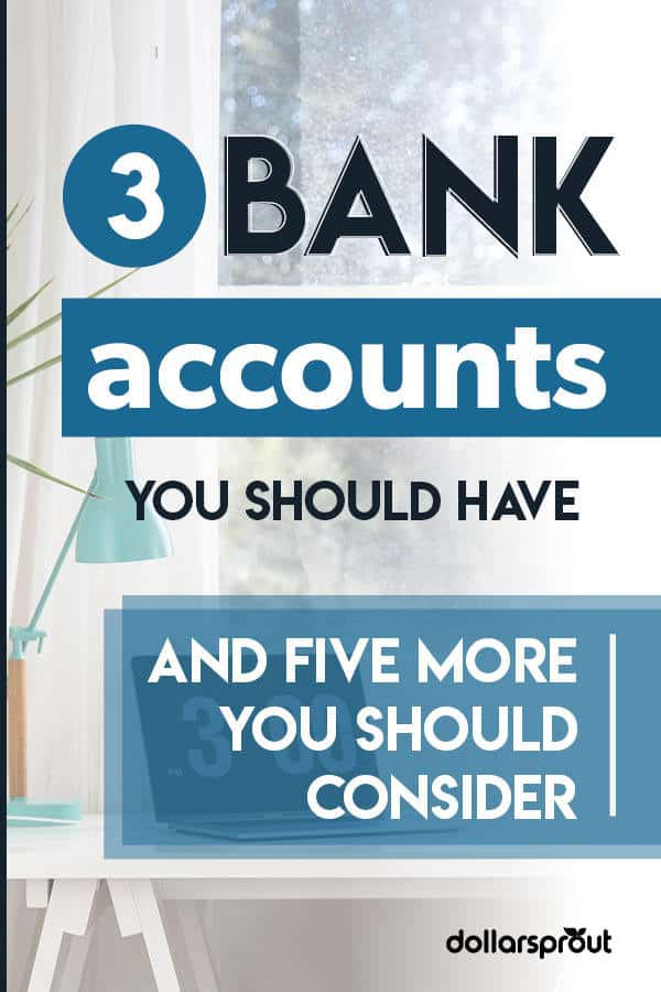 how many bank accounts should i have