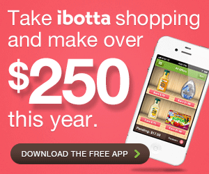 Ibotta claims you'll make over $250 per year with the app