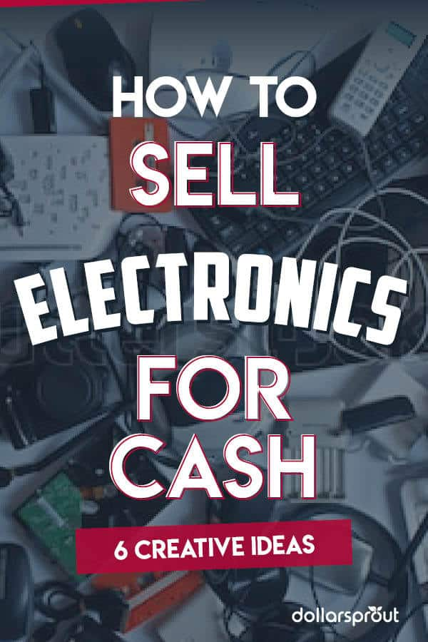 Do you have an interest in electronics? Have an old TV, phone or DVD player just sitting on a shelf collective dust? Here are 6 easy ways to make money selling electronics you have just laying around the house going to waste. Whether you're just looking to declutter, or you want to turn your knowledge of tech into and online business, there is something on this list for everyone!