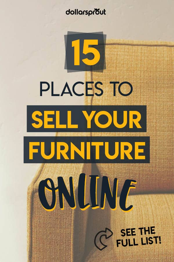 14 Places to Sell Used Furniture for Cash (and How to Make the Most Money)