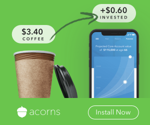 how acorns investing app works
