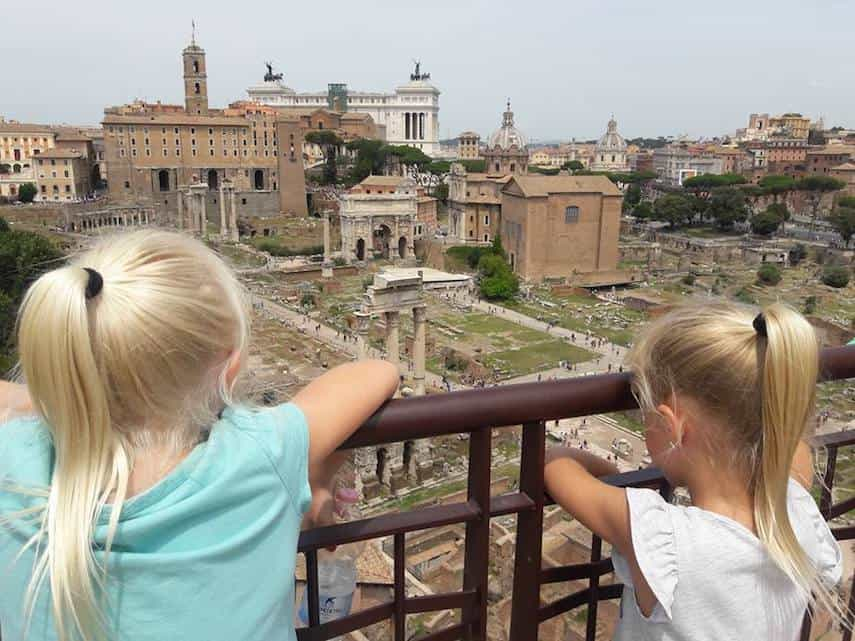 holly johnson's kids in rome