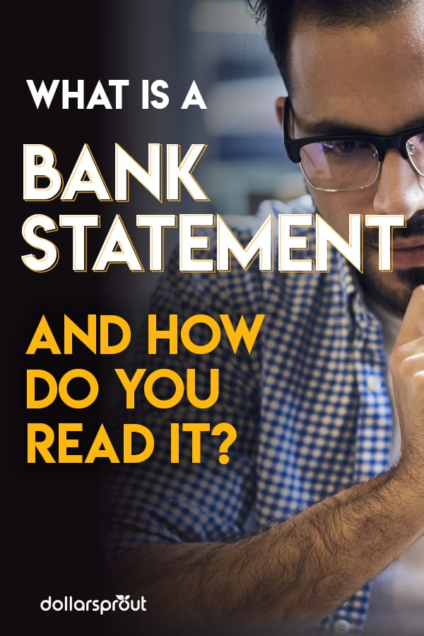 what is a bank statement