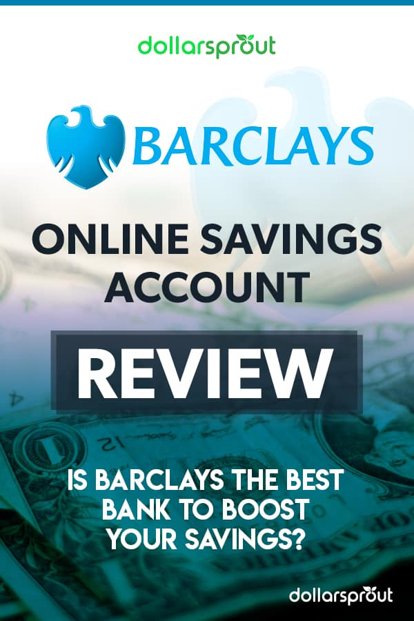 Barclay's Online Savings Account Review