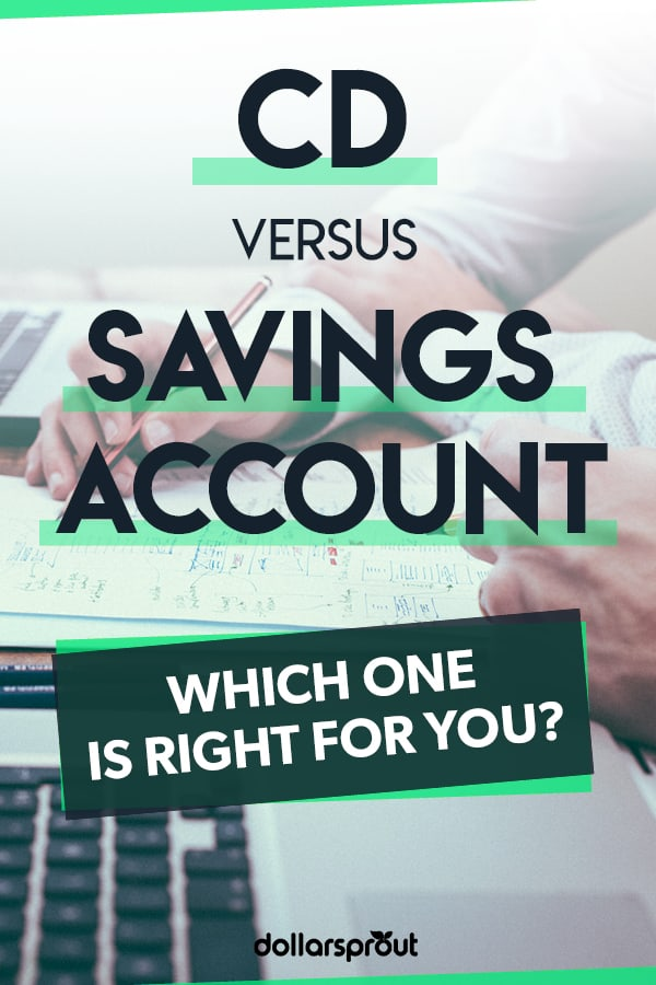 cd vs savings account differences and comparison