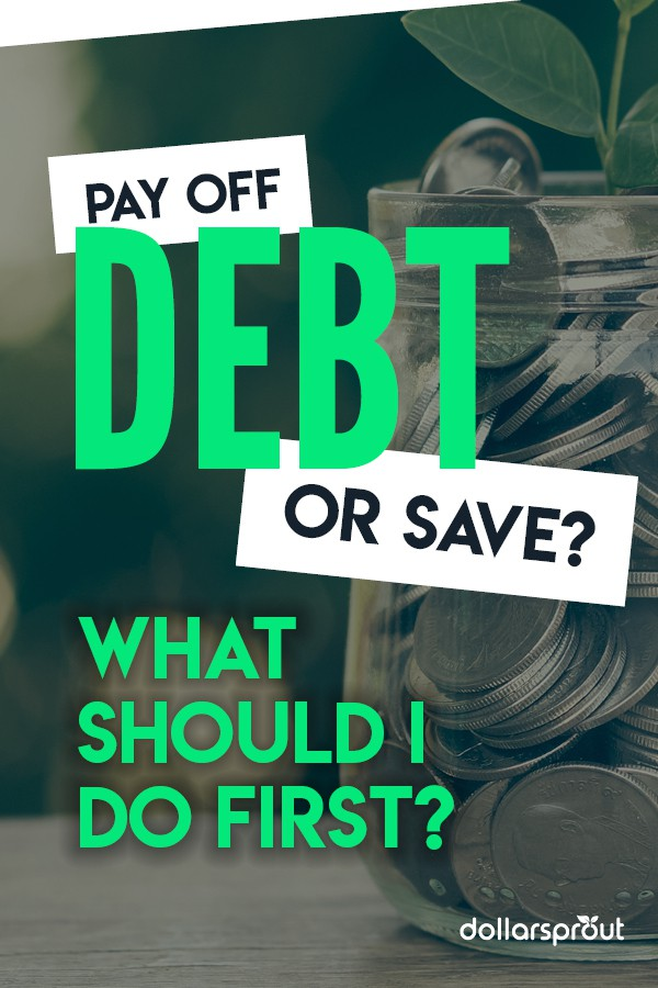 pay off debt or save money