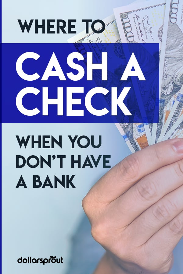 where to cash a check