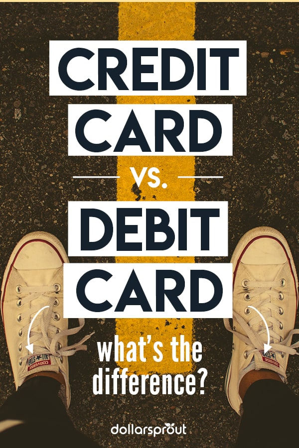 Credit Card vs. Debit Card