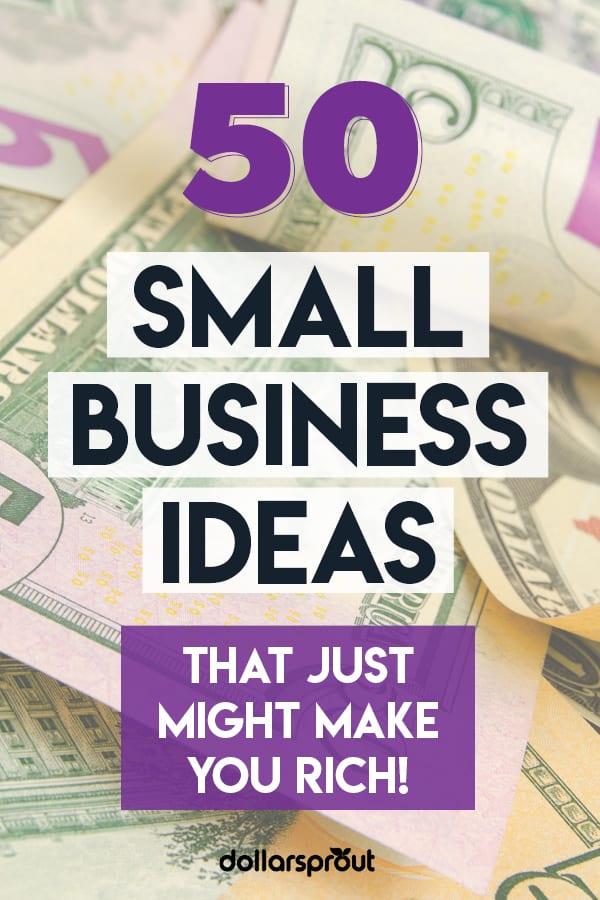 50 Small Scale Business Ideas For Beginner Entrepreneurs