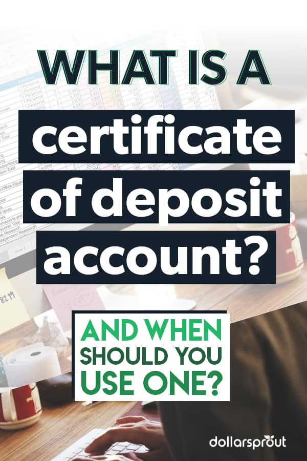 what is a cd (certificate of deposit)