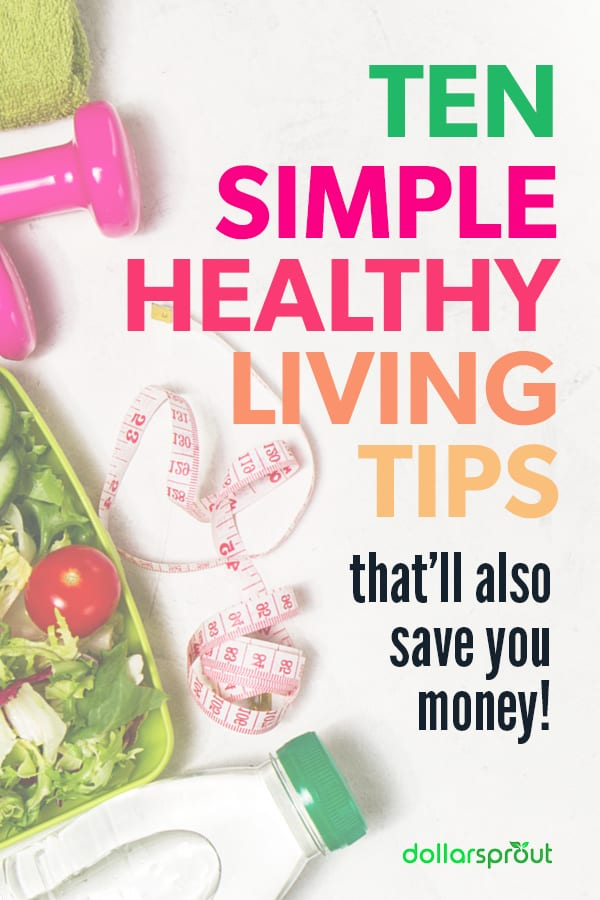 budget healthy living tips