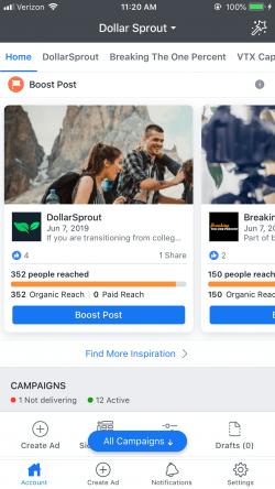 facebook ads app