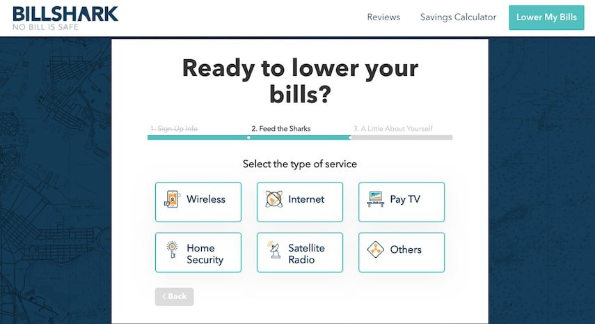BillShark: Choose Your Bills