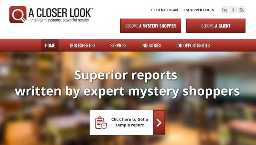 a closer look mystery shopping company