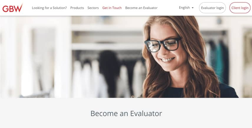 gbw solutions mystery shopping evaluator
