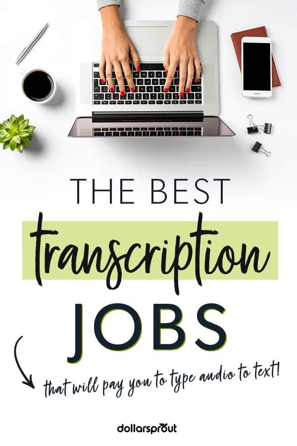 legit transcription jobs