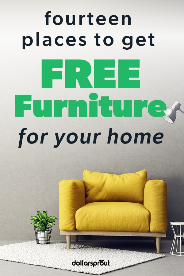 places to get free furniture