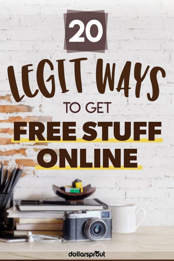 legit ways to get free stuff online