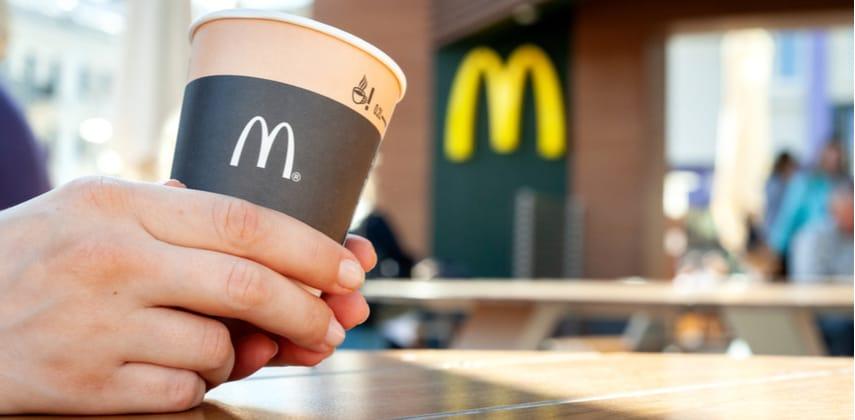 Tazza di caffè McDonald