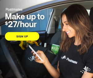 postmates driver sign up