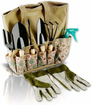 Garden Tool Set with Organizer