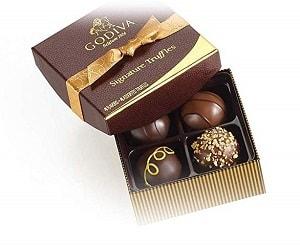 Godiva Chocolate Christmas Gift