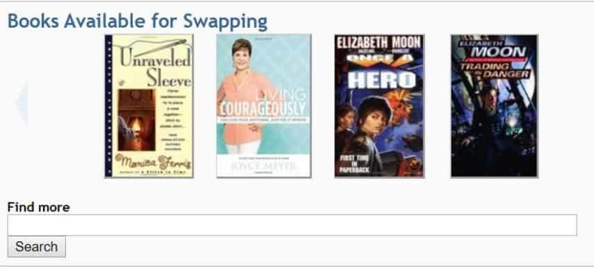 PaperBack Swap homepage