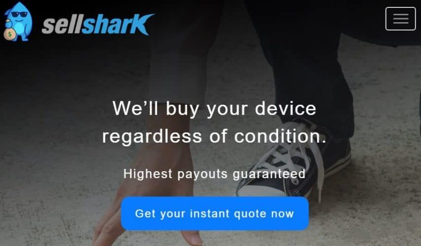 SellShark homepage